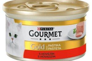 GOURMET Gold paštéta s hovädzím 85 g