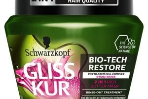 Gliss Kur 2v1 kondicionér alebo maska Bio-Tech Restore 300 ml