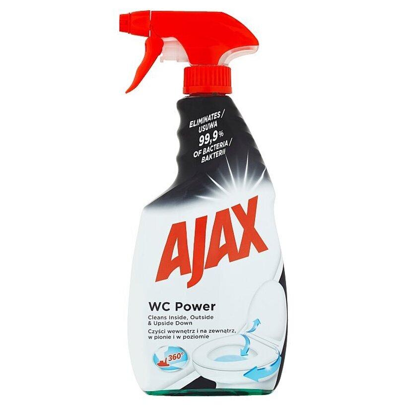 Ajax WC Power kvapalina pre čistenie a dezinfekciu toaliet 500 ml