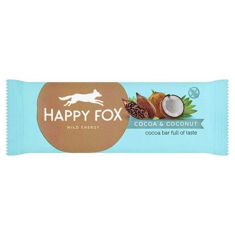 Happy Fox Kakaová tyčinka s kokosom 50 g