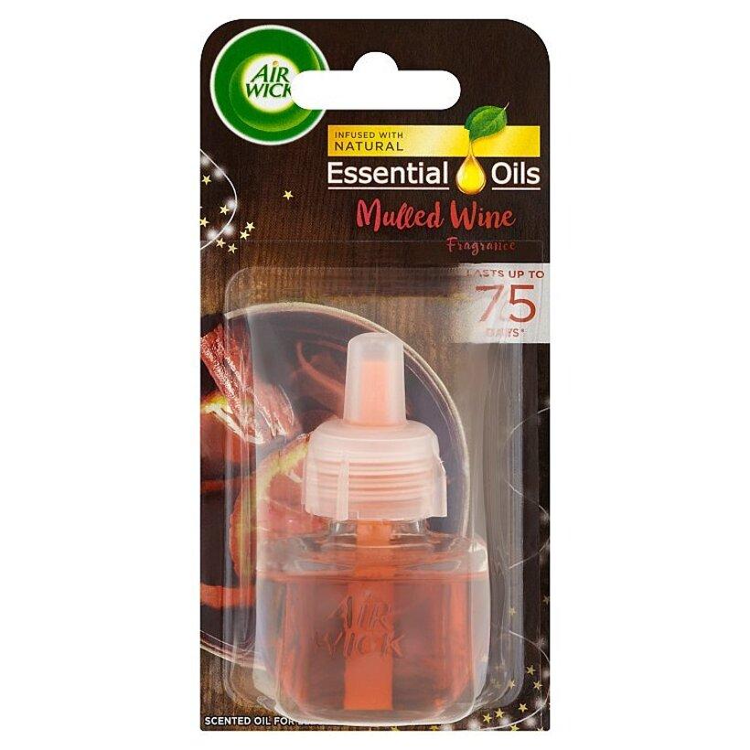 Air Wick Essential Oils Tekutá náplň do elektrického prístroja vôňa vareného vína 19 ml