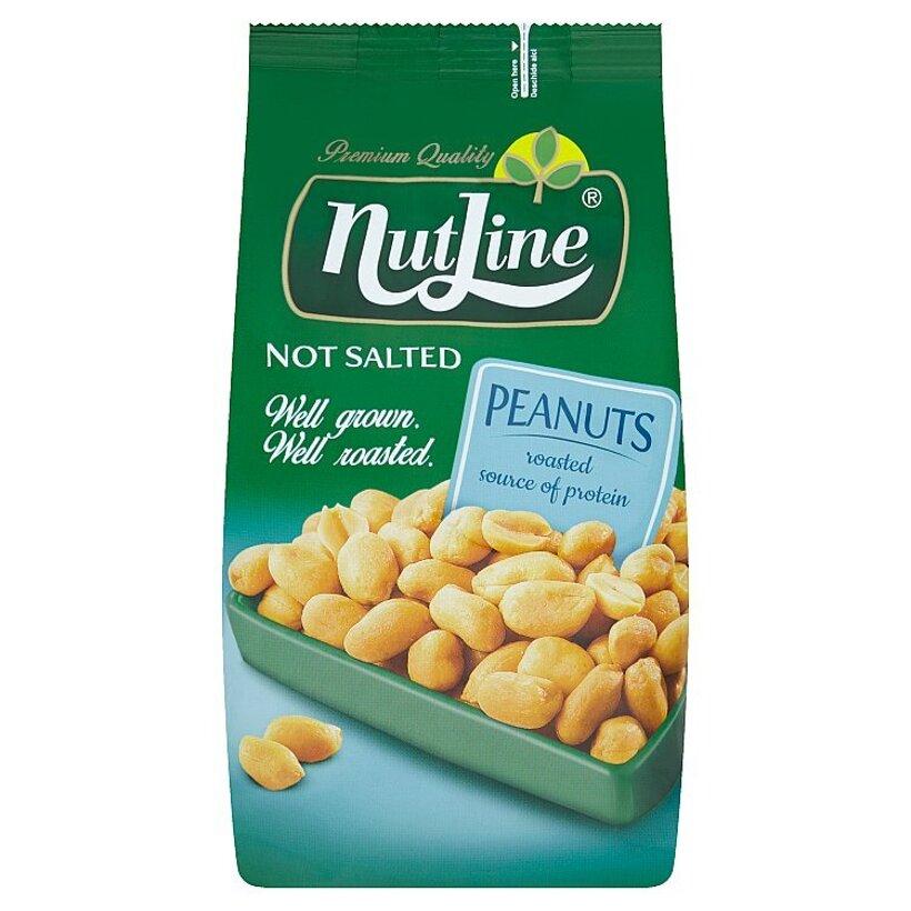 Nutline Pražené arašidy nesolené 400 g