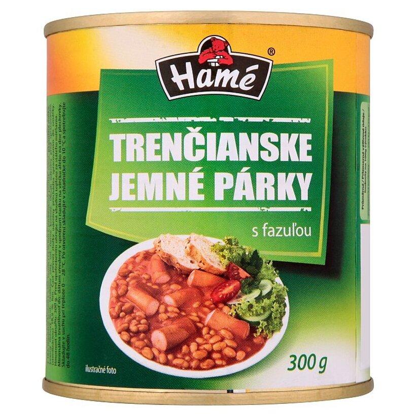 Hamé Trenčianske jemné párky s fazuľou 300 g
