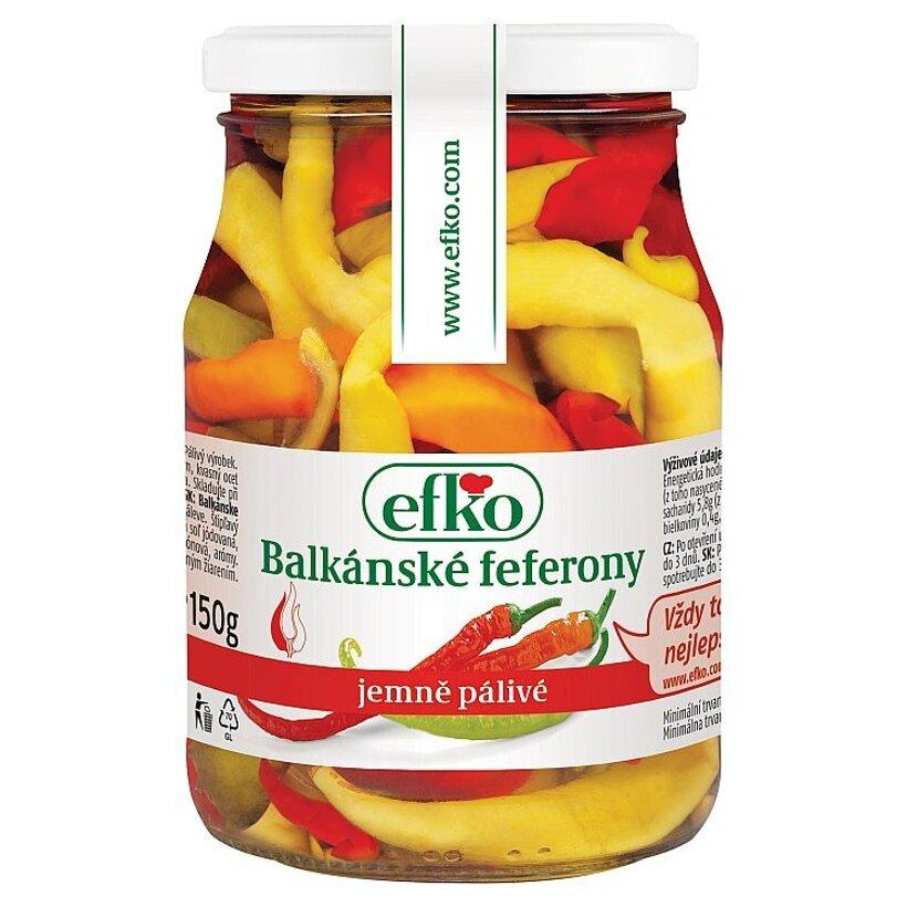 efko Balkánske feferóny 330 g