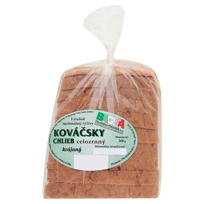 Bageta Kováčsky chlieb celozrnný krájaný 360 g