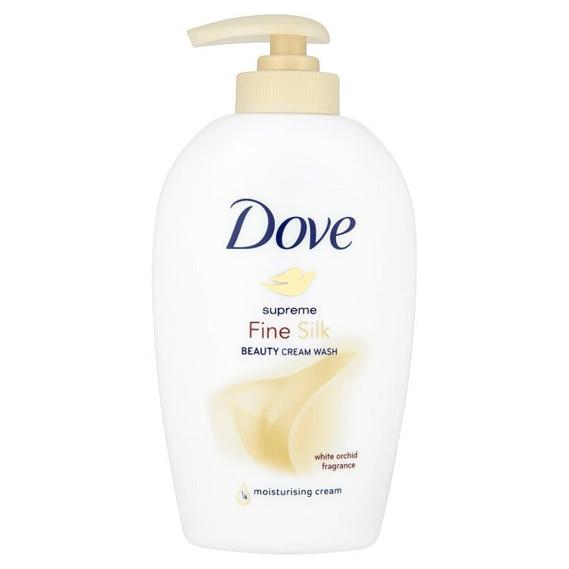 Dove Supreme Fine silk hodvábne tekuté mydlo 250 ml