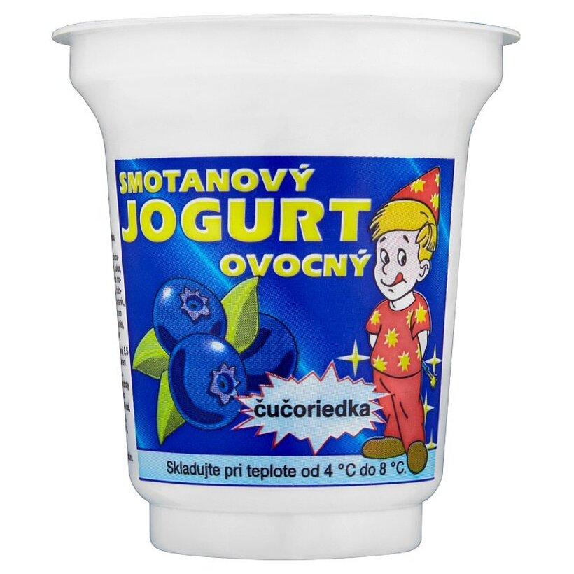 Smotanový jogurt ovocný čučoriedka 150 g