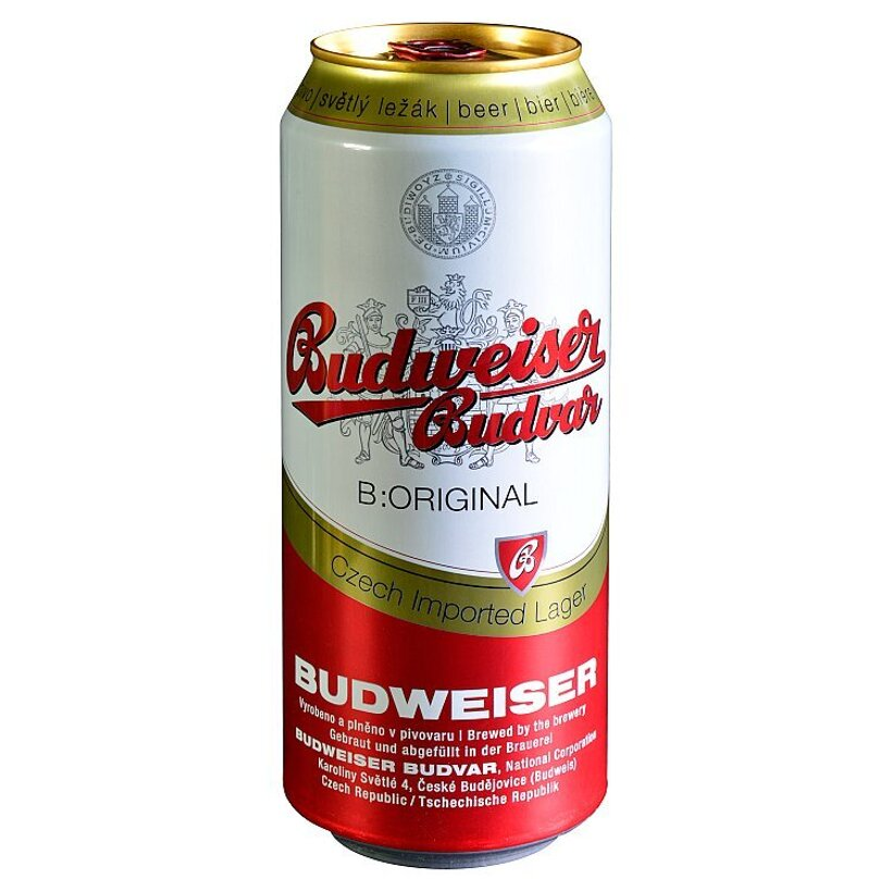 Budweiser Budvar B:Original pivo svetlý ležiak 500 ml