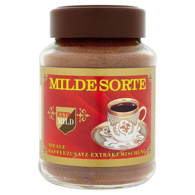 Milde Sorte Rozpustný extrakt z kávy a kávoviny 100 g