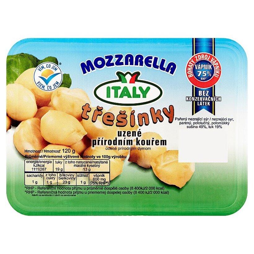 Italy Mozzarella třešínky údené prírodným dymom 120 g