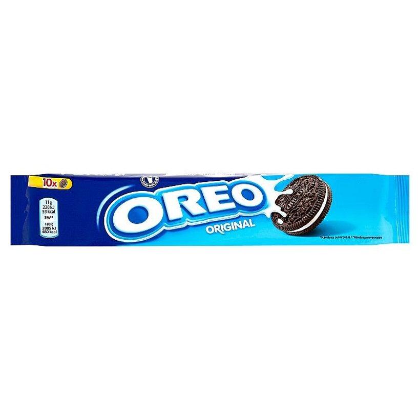 Oreo Original kakaové sušienky s náplňou s vanilkovou príchuťou 110 g