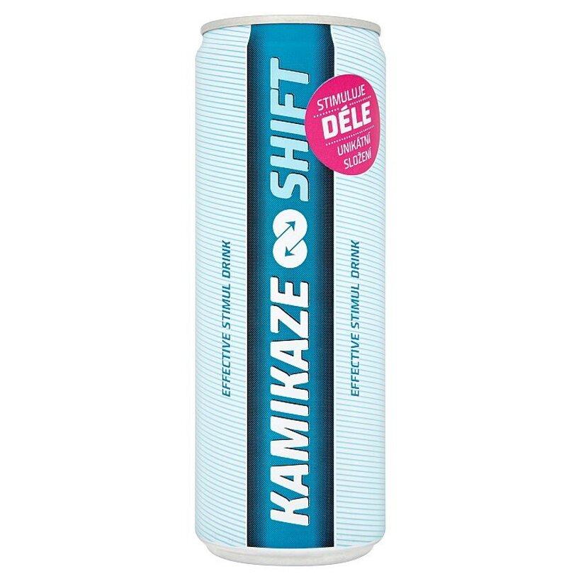 Kamikaze Shift povzbudzujúci nealkoholický nápoj s vitamínmi nesýtený 355 ml