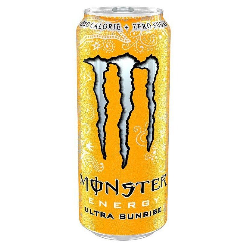 Monster Energy Ultra sunrise sýtený energetický nápoj 500 ml