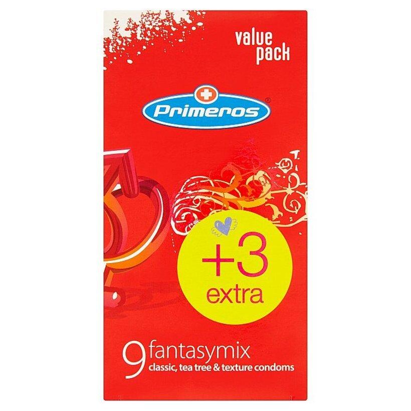 Primeros fantasymix mix kondómov classic, tea tree a texture 12 ks