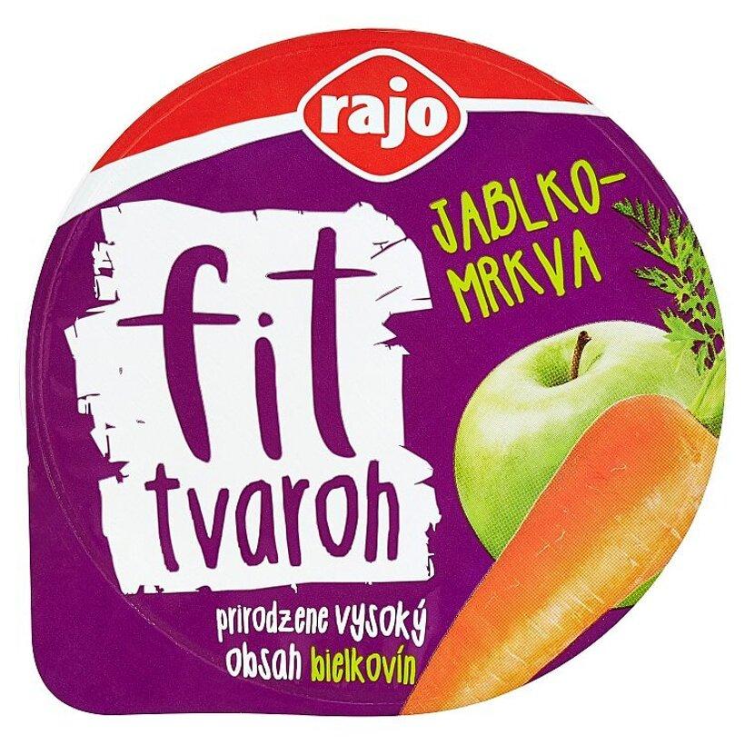 Rajo Fit tvaroh jablko-mrkva 200 g