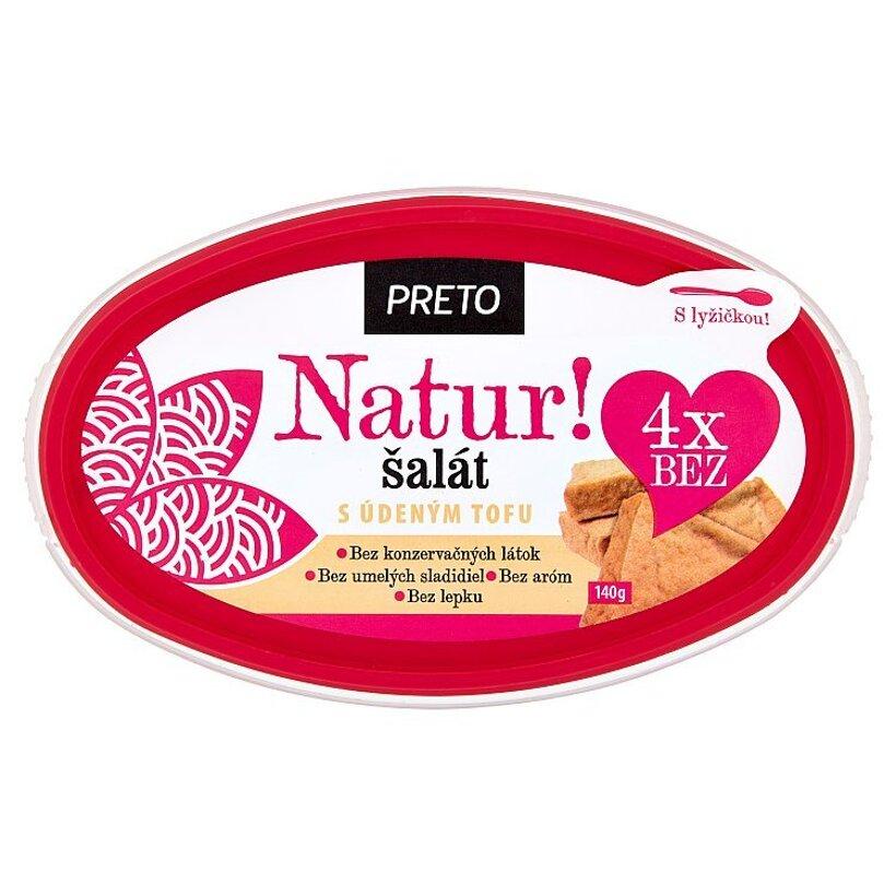 Ryba Žilina Preto Natur šalát s údeným tofu 140 g