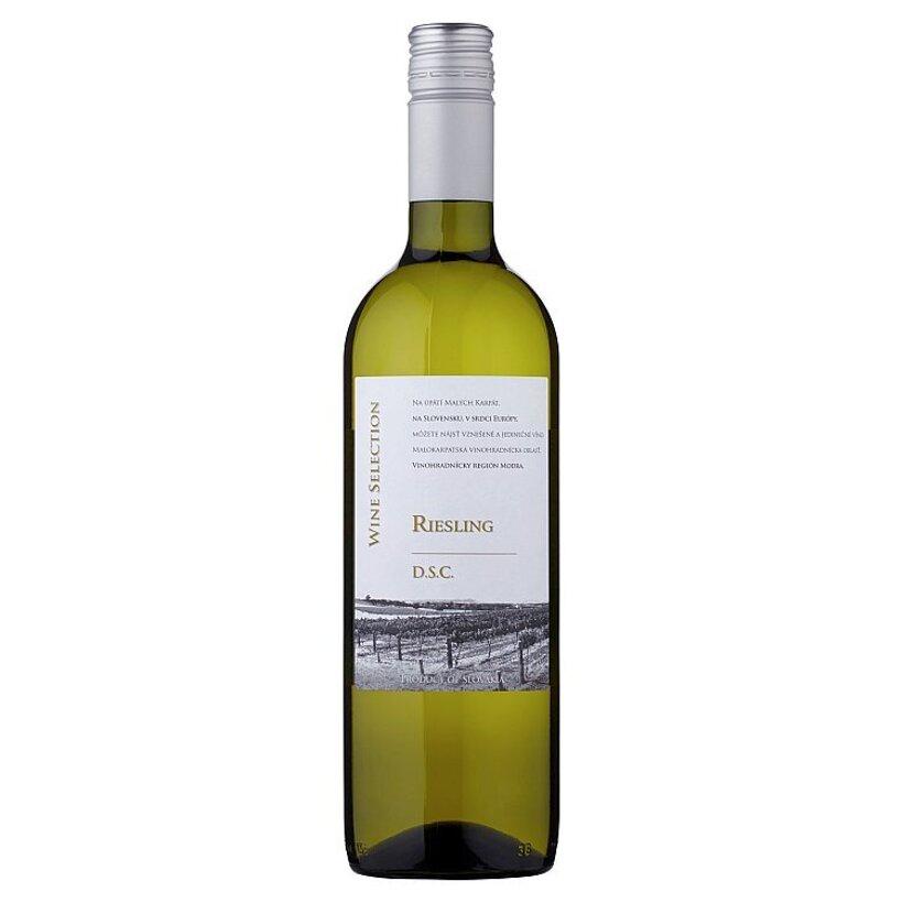 Riesling akostné odrodové biele suché víno 0,75 l