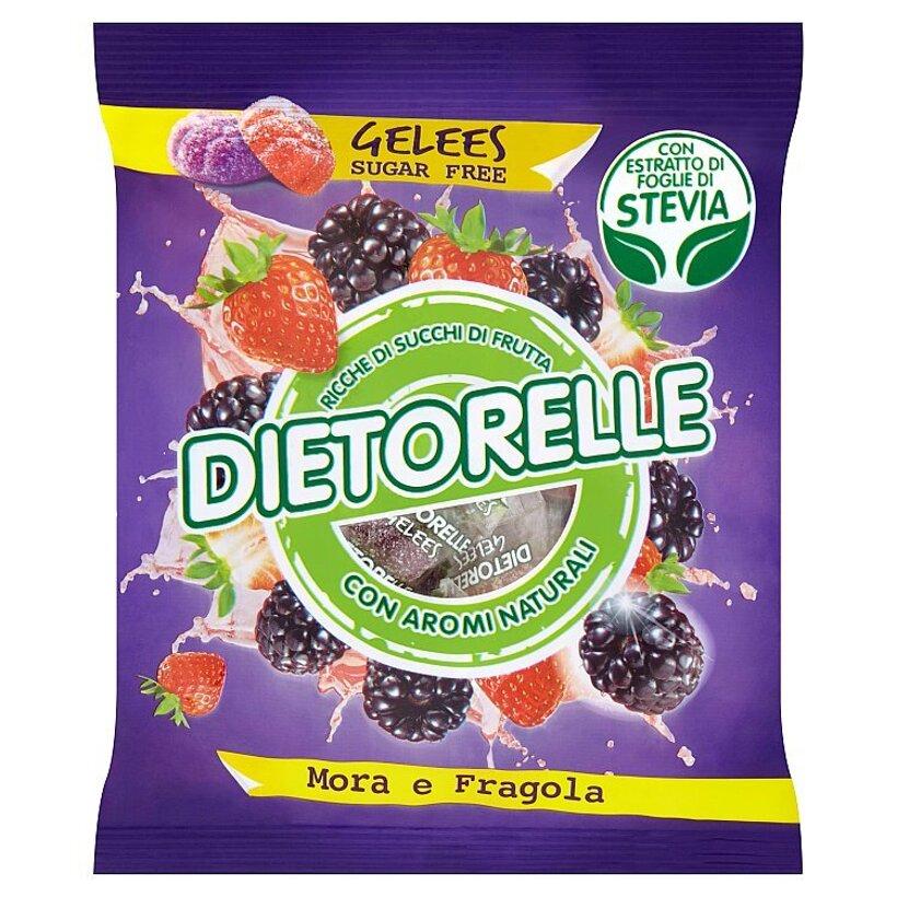 Dietorelle Mora e fragola želé so sladidlami 70 g