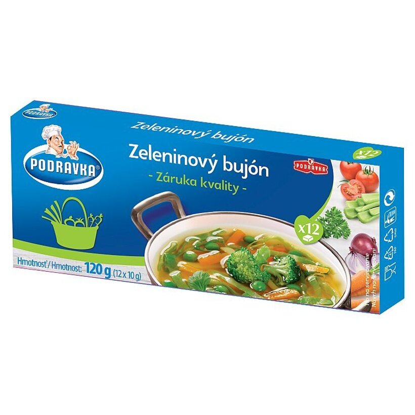 Podravka Zeleninový bujón 12 x 10 g