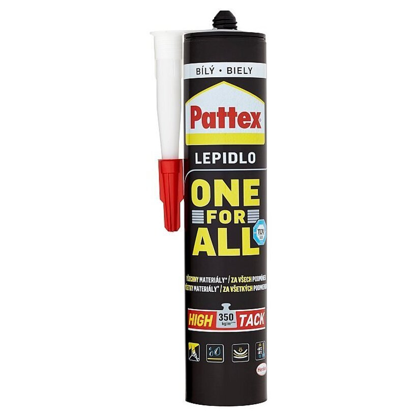 Pattex One For All High Tack montážne lepidlo biele 440 g