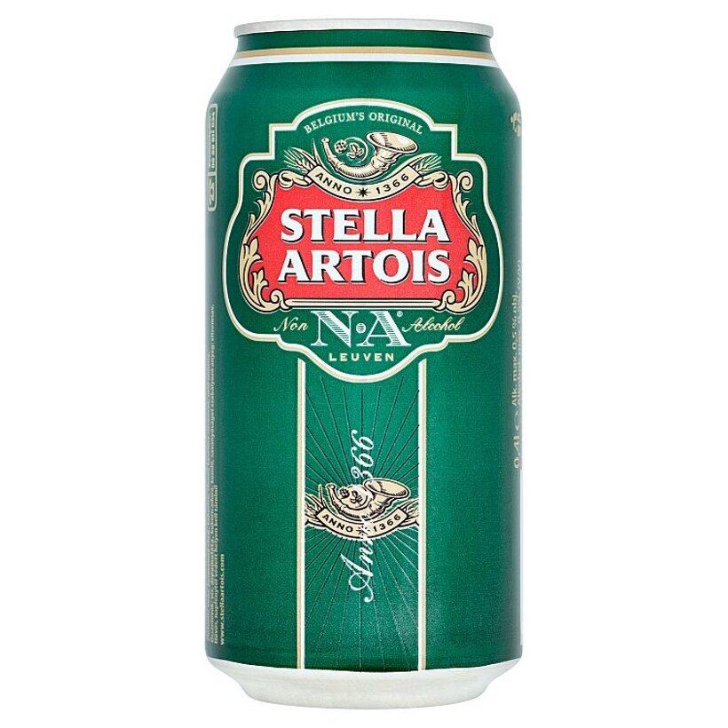 Stella Artois Pivo nealkoholické svetlé 0,4 l