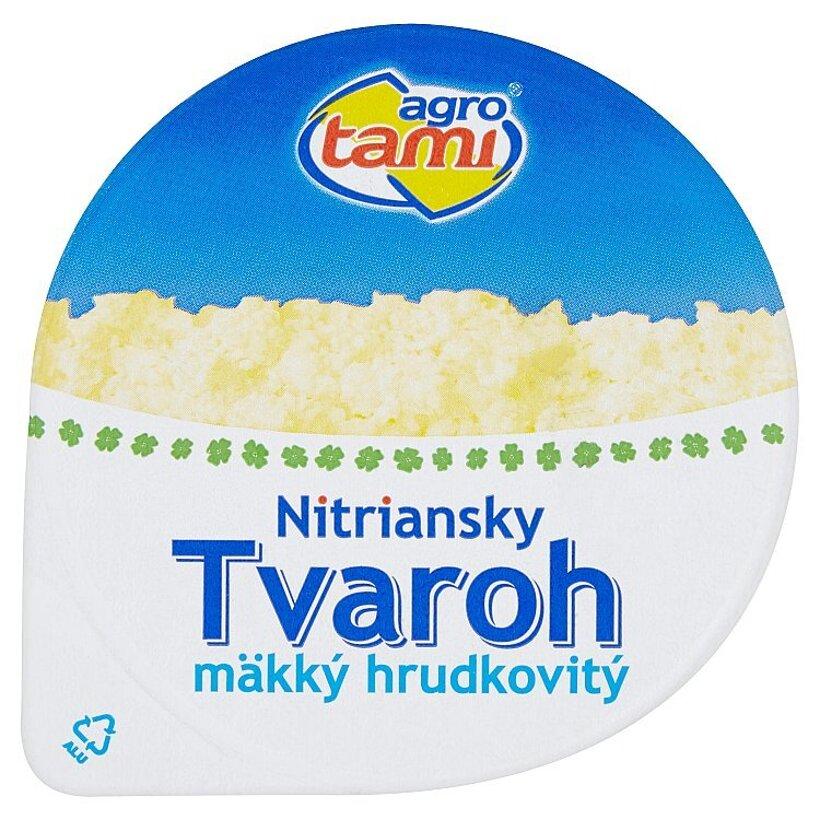 Agro Tami Nitriansky tvaroh mäkký hrudkovitý 200 g