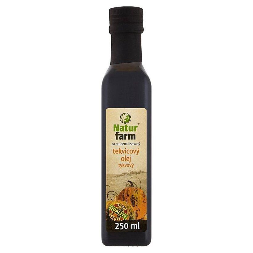 Natur Farm Tekvicový olej za studena lisovaný 250 ml