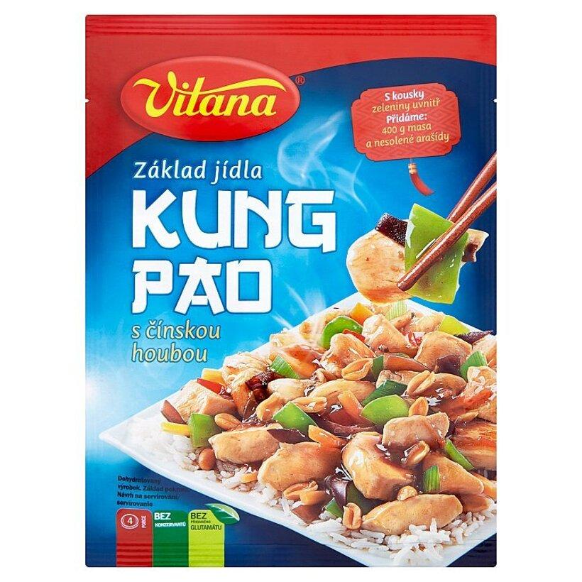 Vitana Kung pao s čínskou hubou základ pokrmu 80 g