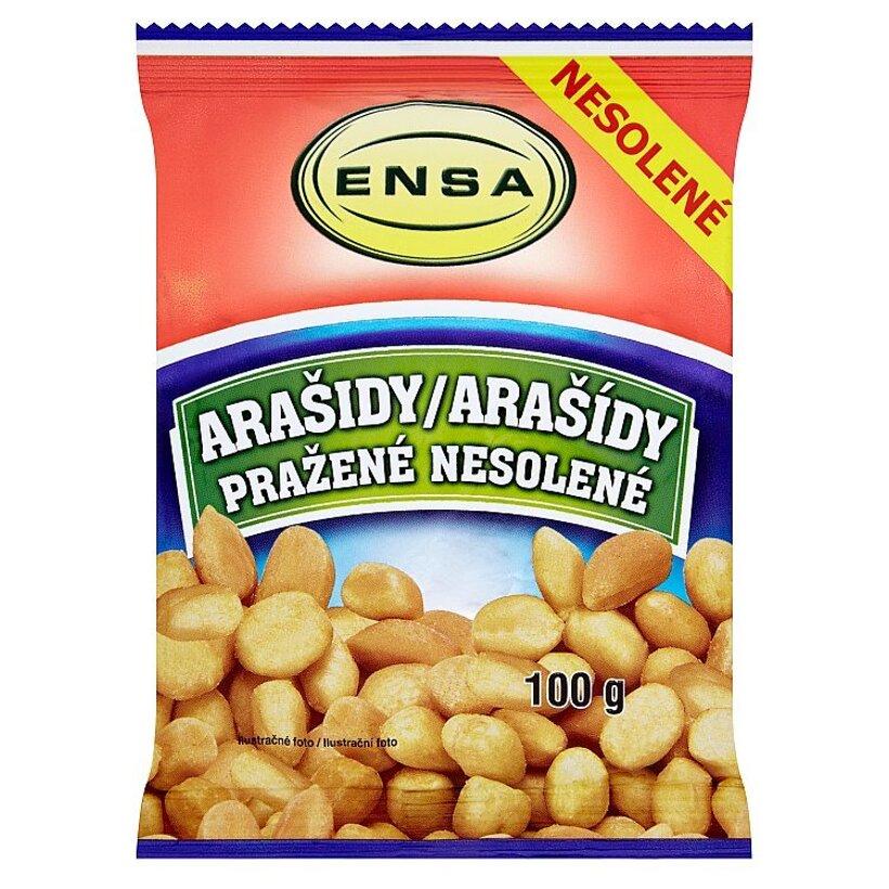 Ensa Arašidy pražené nesolené 100 g