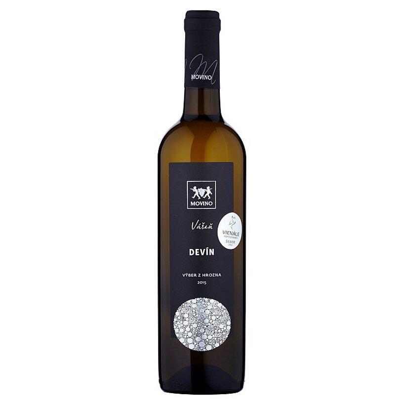 Movino Vášeň Devín výber z hrozna víno biele polosuché s prívlastkom 0,75 l