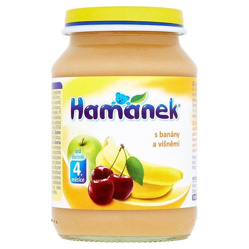 Hamánek S banánmi a višňami 190 g