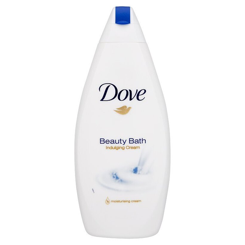 Dove Beauty Bath Indulging Cream skrášľujúca pena do kúpeľa 500 ml