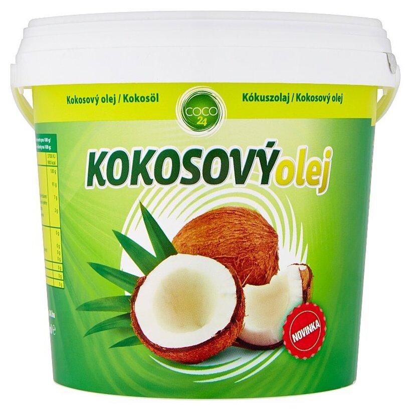 Coco24 Kokosový olej 1000 ml