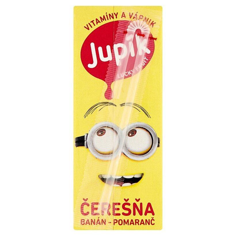 Jupík Lucky Fruit Čerešňa - banán - pomaranč 0,2 l