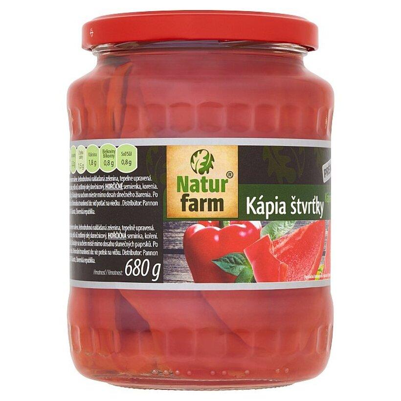 Natur Farm Kápia štvrťky 680 g