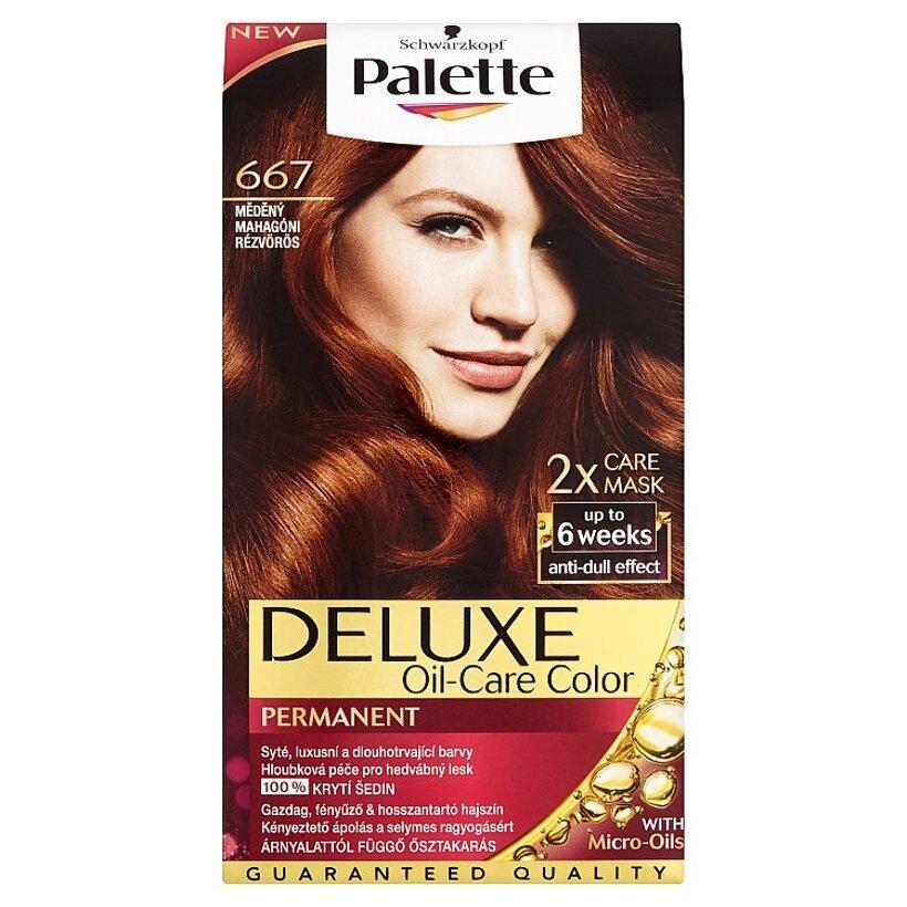 Schwarzkopf Palette Deluxe farba na vlasy Medený 667