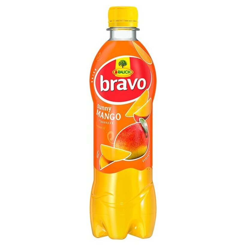 Rauch Bravo Sunny mango 0,5 l
