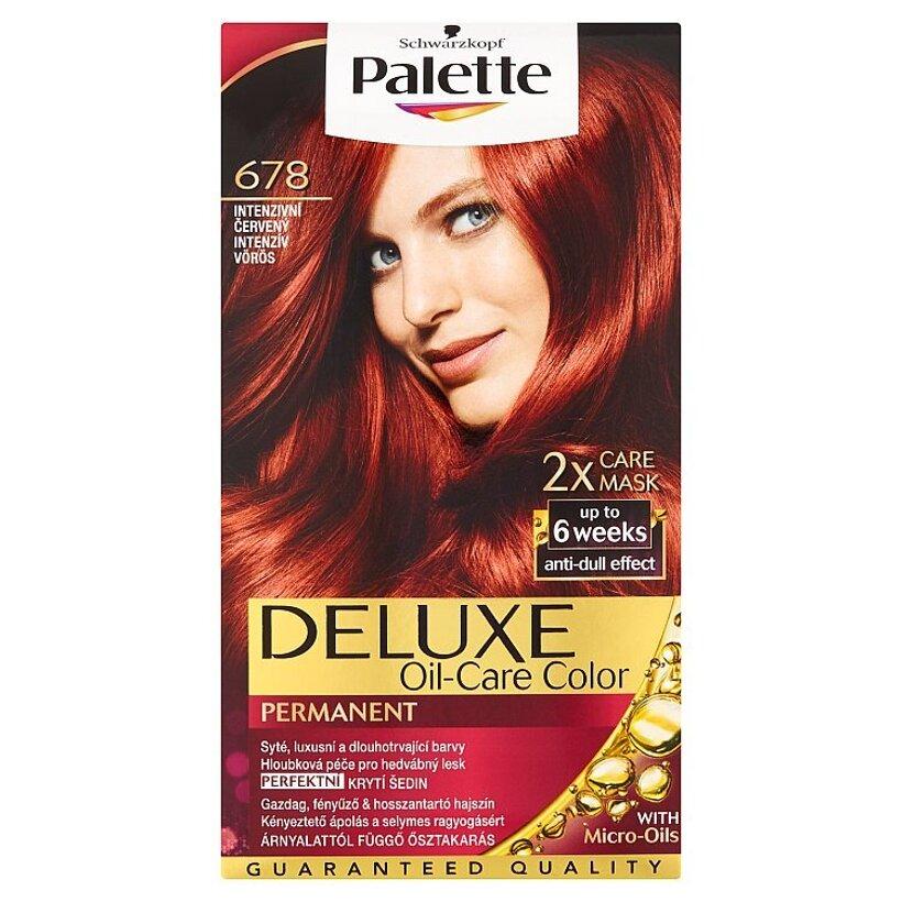 Schwarzkopf Palette Deluxe farba na vlasy Intenzívny Červený 678
