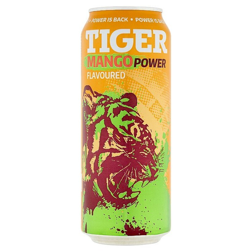 Tiger Mango Power energetický nápoj 500 ml