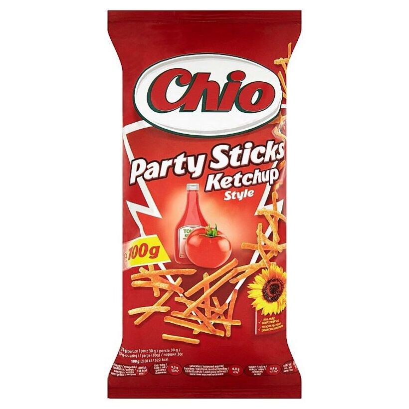 Chio Party Sticks smažené zemiakové tyčinky s príchuťou kečupu 100 g