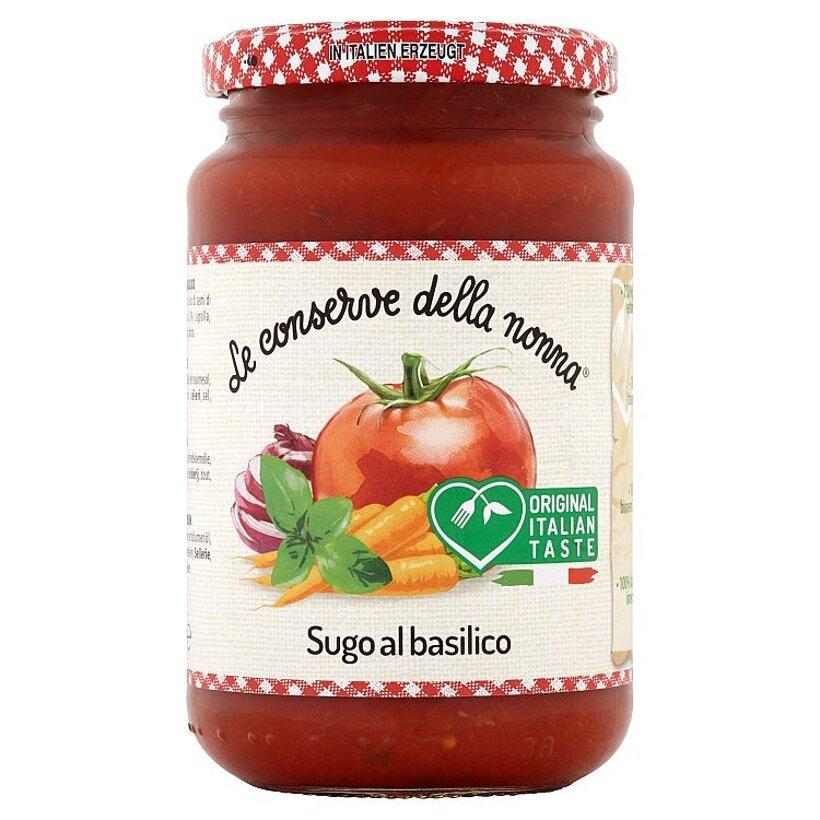 Le Conserve della Nonna Sugo paradajkové pyré s bazalkou 350 g