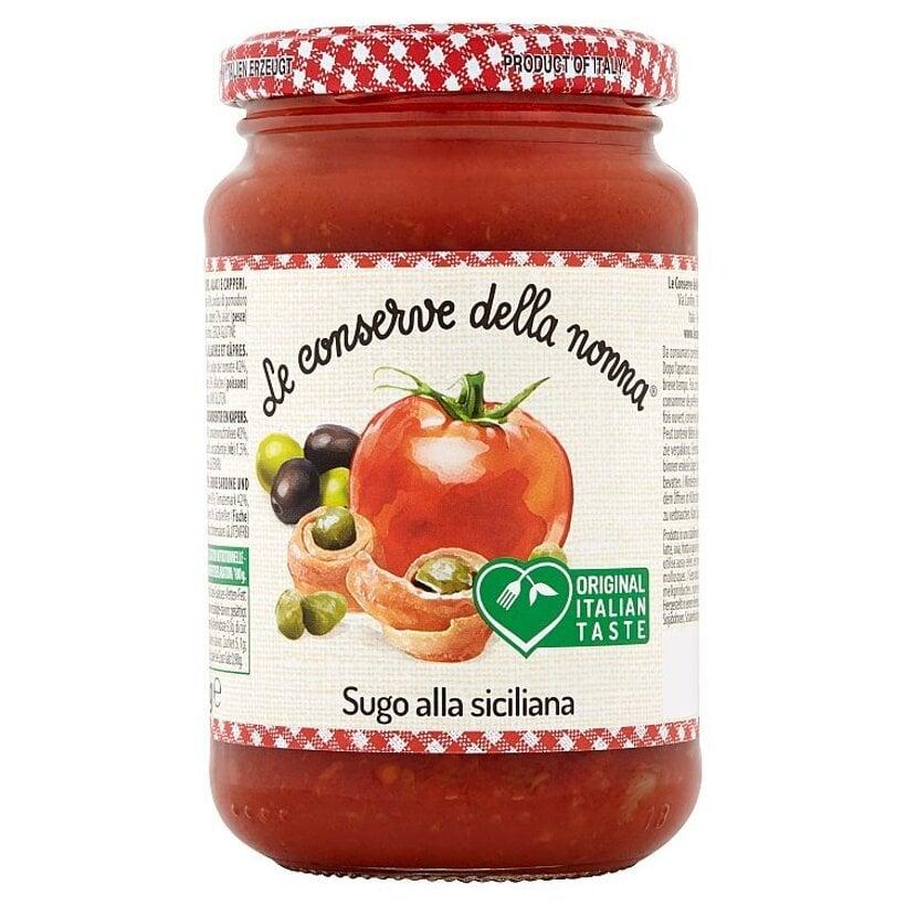 Le Conserve della Nonna Sugo alla Siciliana paradajková omáčka po sicílsky 350 g