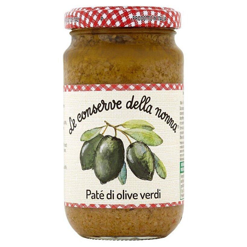 Le Conserve della Nonna Pasta zo zelených olív 190 g