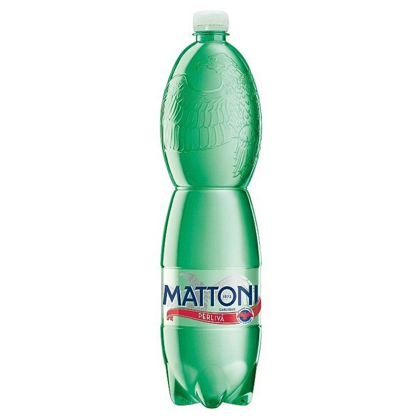 Mattoni Prírodná minerálna voda sýtená 1,5 l