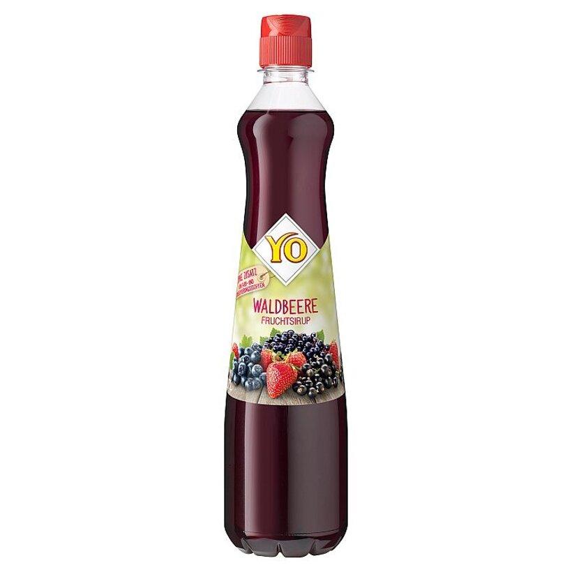 YO Ovocný sirup z lesných plodov 0,7 l
