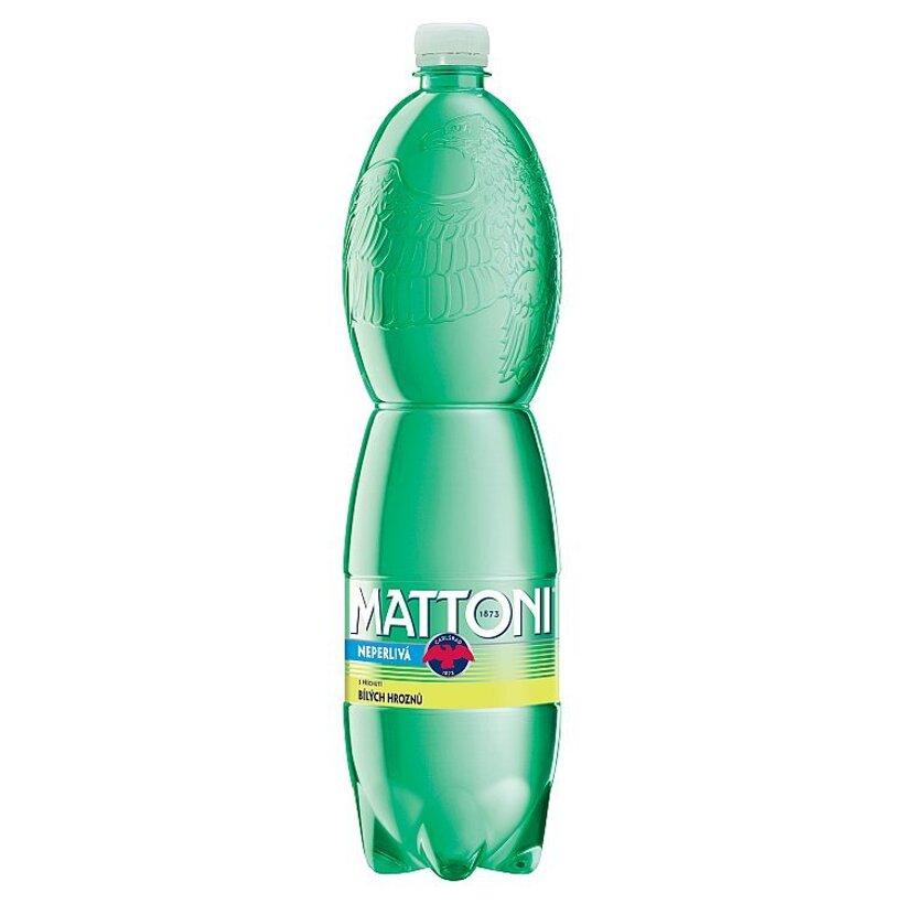 Mattoni Nealkoholický nápoj pripravený z prírodnej vody s arómou bieleho hrozna 1,5 l