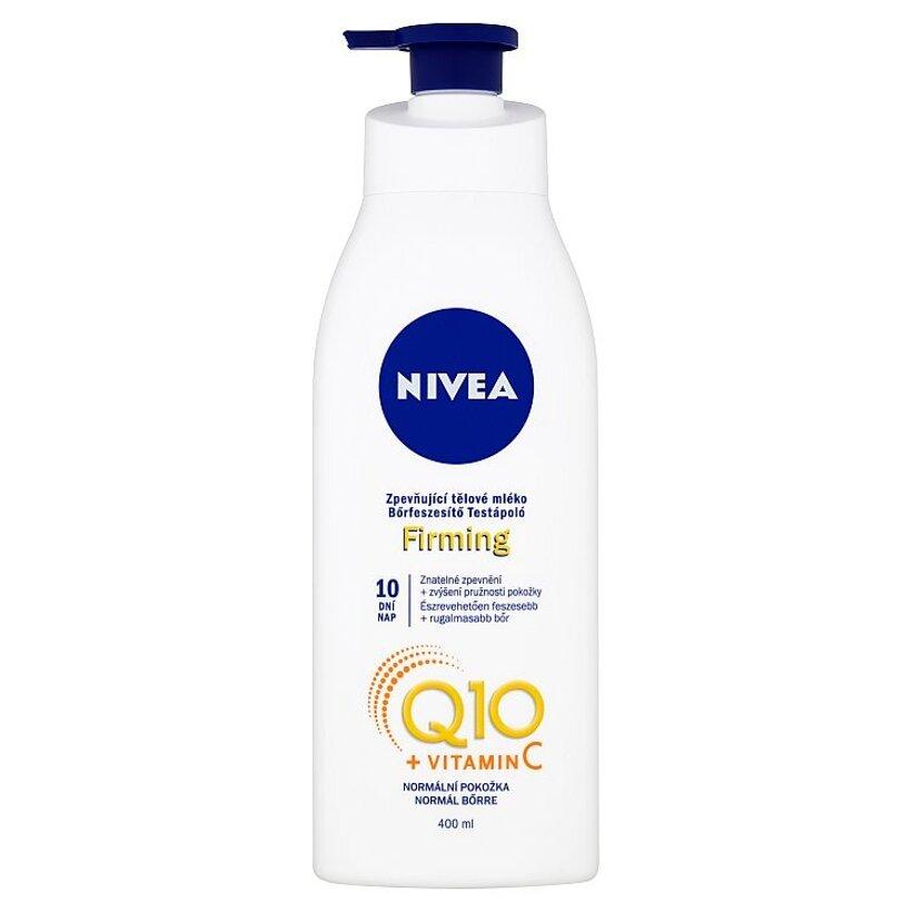 Nivea Q10 + Vitamín C Spevňujúce telové mlieko 400 ml