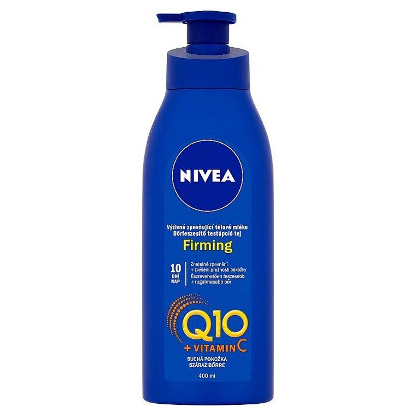 Nivea Q10 + Vitamin C Výživné spevňujúce telové mlieko 400 ml