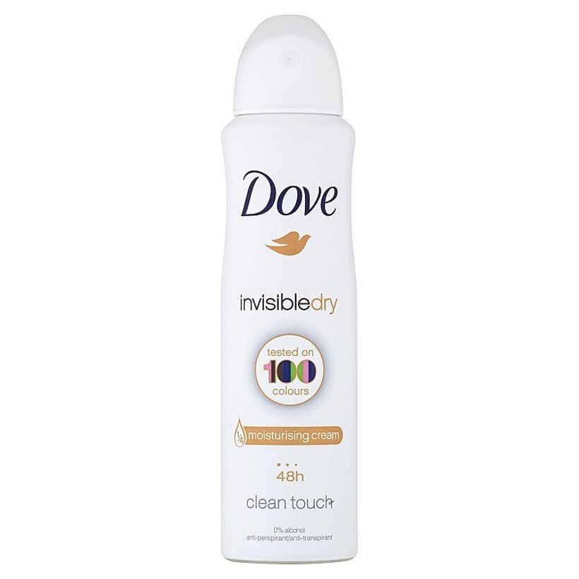 Dove Invisible Dry antiperspirant sprej 150 ml