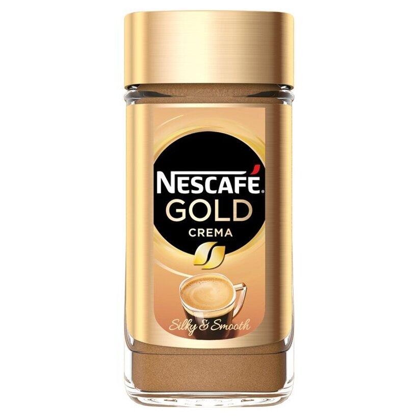 NESCAFÉ GOLD Crema, instantná káva, 200 g
